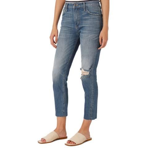 Current Elliott Blue Vintage Cropped Jean