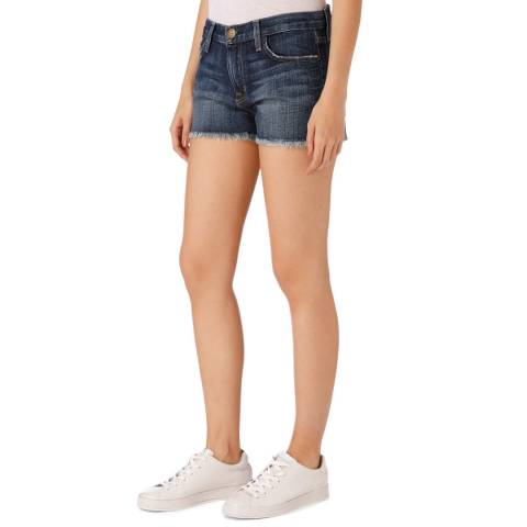 Current Elliott Dark Blue Boyfriend Short