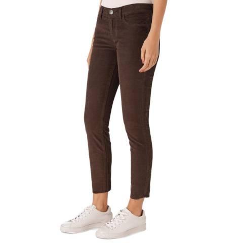 Current Elliott Brown Mid Rise Stiletto Jean