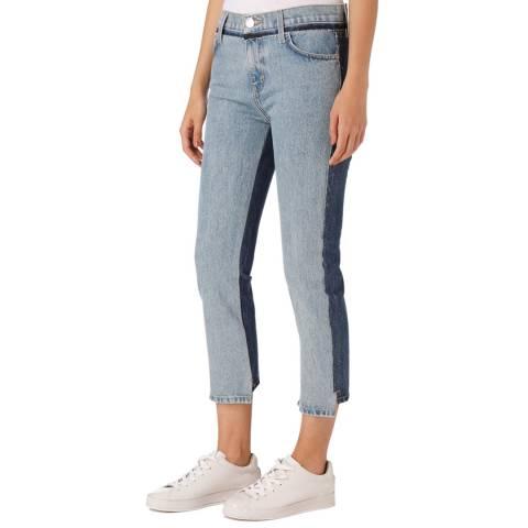 Current Elliott Blue High Waist Somer Jean