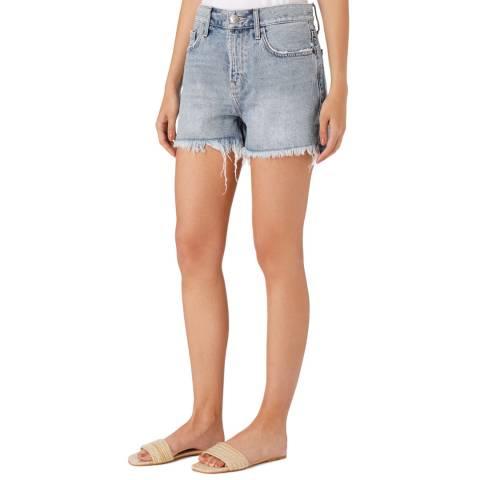 Current Elliott Blue High Waisted Jeans