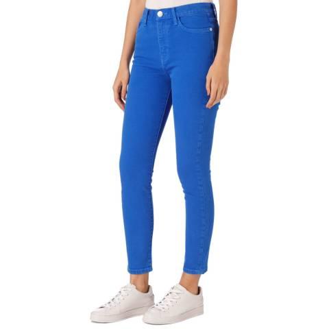 Current Elliott Blue Ultra High Waist Jean