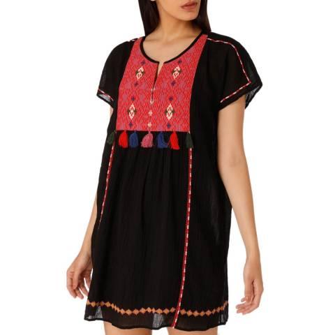 Joie Black Lucretia Cotton Dress