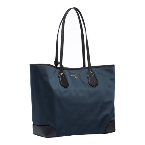 Michael Kors Navy/Black Eva Large Nylon Bag