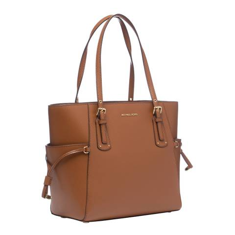 Michael Kors Acorn Voyager Small Leather Bag