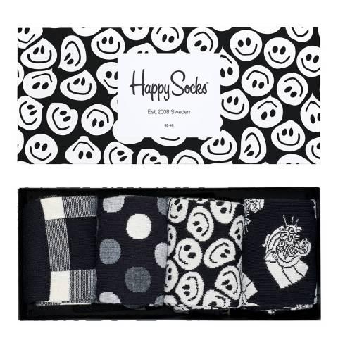 Happy Socks WOMENS HAPPY SOCK 4 PACK GIFT BOXES