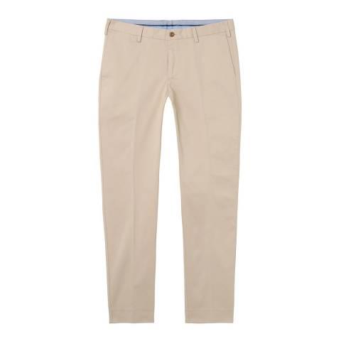 Gant Sand Slim Tailored Satin Slacks
