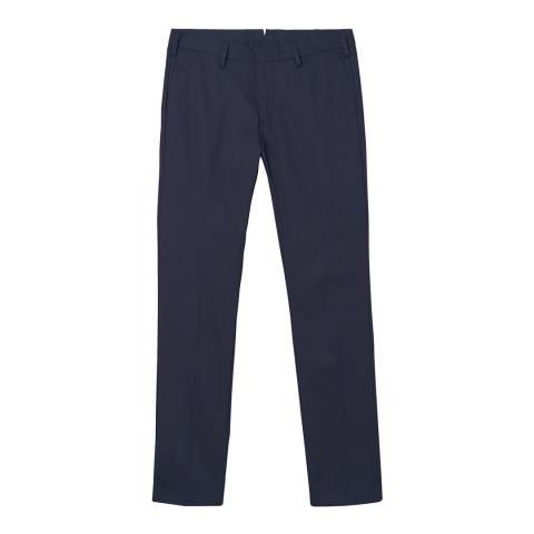 Gant Blue Slim Traveler Slack Trouser