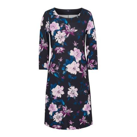 Gant Evening Blue Flower Dress