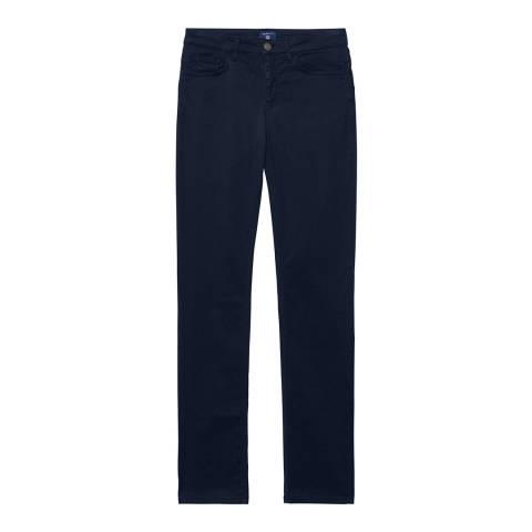 Gant Blue Regular Peach Touch Jeans