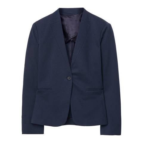 Gant Navy Jersey Blazer