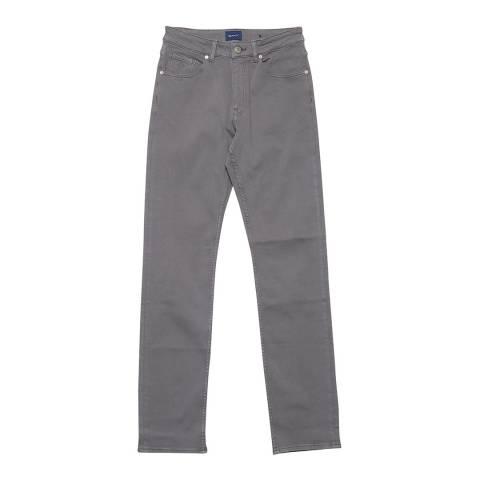 Gant Grey Slim Twill Jeans