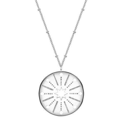 Clara Copenhagen Silver Sterne Pendant Necklace