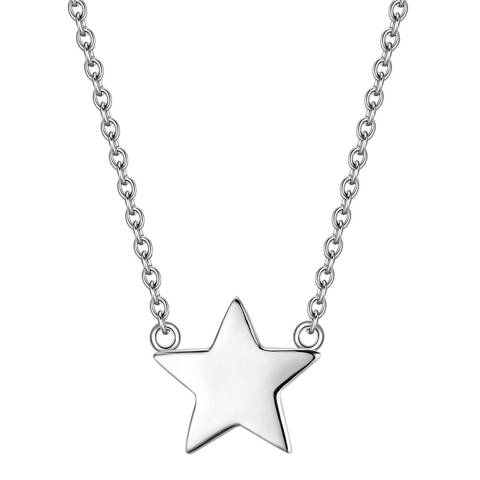 Clara Copenhagen Silver Star Pendant Necklace