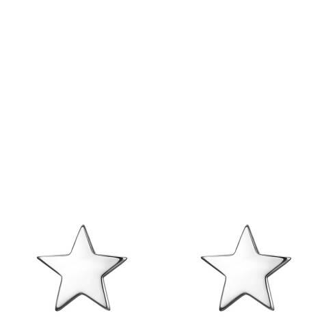 Clara Copenhagen Silver Star Stud Earrings