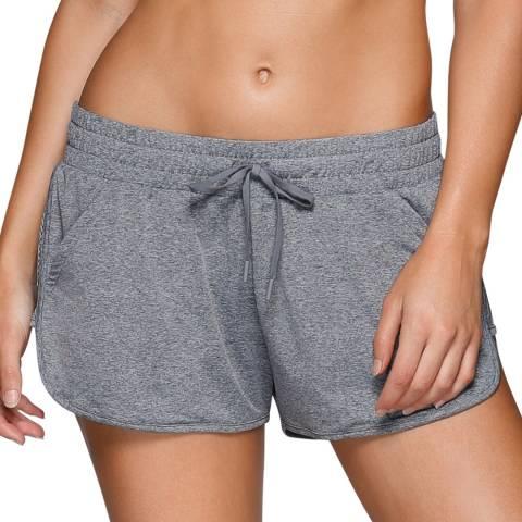 Lorna Jane Grey Crusade Run Shorts