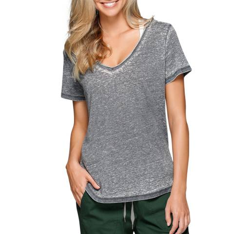Lorna Jane Grey Lindsay Short Sleeve T-Shirt