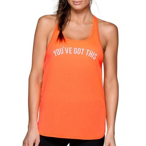 Lorna Jane Orange You've Got This Tank