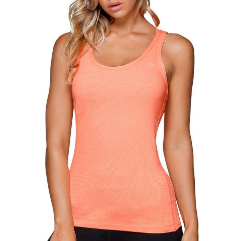 Lorna Jane Orange Defiance Excel Tank