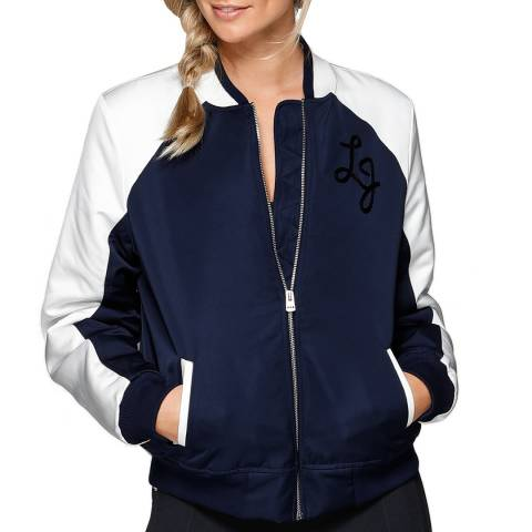 Lorna Jane Navy/White Alyx Jacket