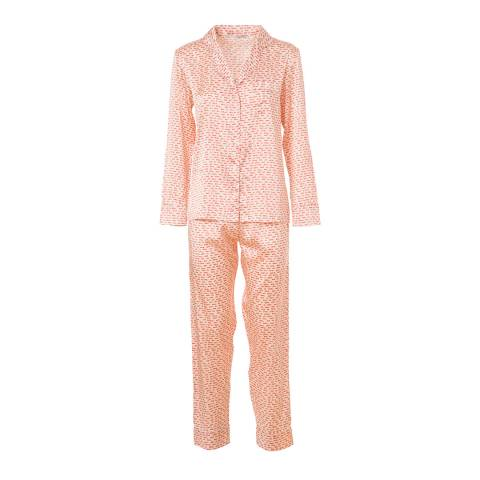 Stella McCartney Ecru Ellie Leaping Pyjama Set