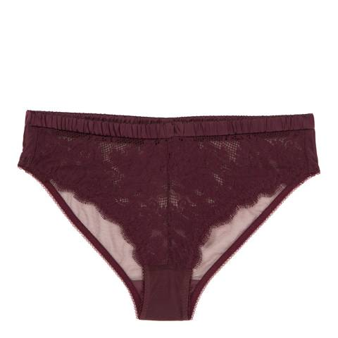 Stella McCartney Aubergine Julia Juggling Brief
