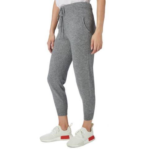 Scott & Scott London Grey Fitted Cashmere Joggers