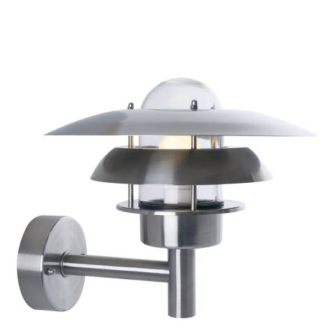 Nordlux Stainless Steel Ry Wall Light