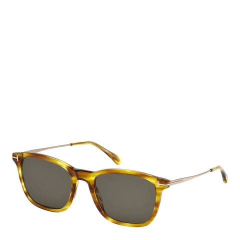 Tom Ford Women's Tortoise Square Sunglasses 53mm