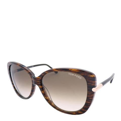 Tom Ford Womens Brown Tom Ford Sunglasses 59mm