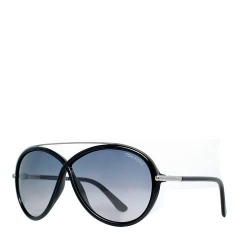 Tom Ford Womens Black/Grey Butterfly Sunglasses 64mm