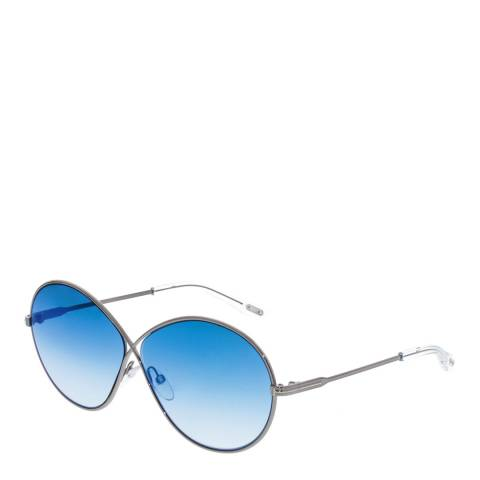 Tom Ford Womens Silver/Blue Tom Ford Sunglasses 64mm