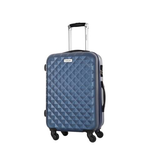 Travel One Blue 4 Wheel Edison Suitcase 45cm