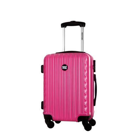 Bagstone Fuchsia 4 Wheel Sweety Suitcase 46cm