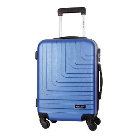 Travel One Blue 4 Wheel Loria Suitcase 68cm