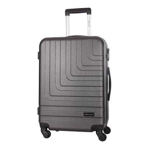 Travel One Grey 4 Wheel Loria Suitcase 68cm