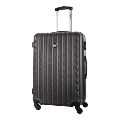 Bagstone Grey 4 Wheel Sweety Suitcase 66cm