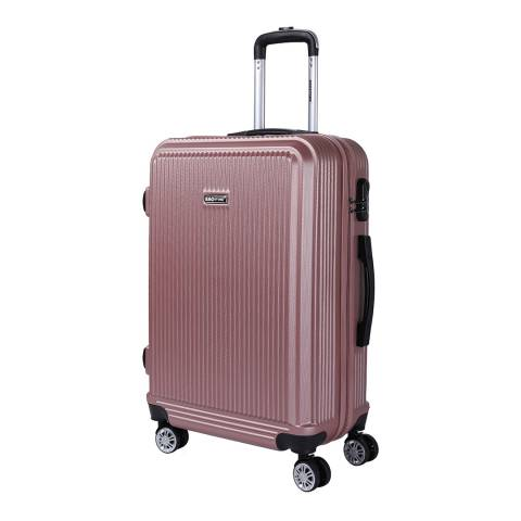 Bagstone Rose Flower 8 Wheel Suitcase 76cm