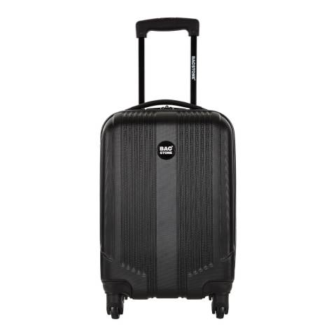 Bagstone Black 4 Wheel LIVE 2 Suitcase 65cm