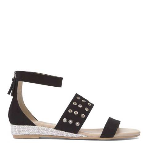 Mint Velvet Black Nelly Sandal