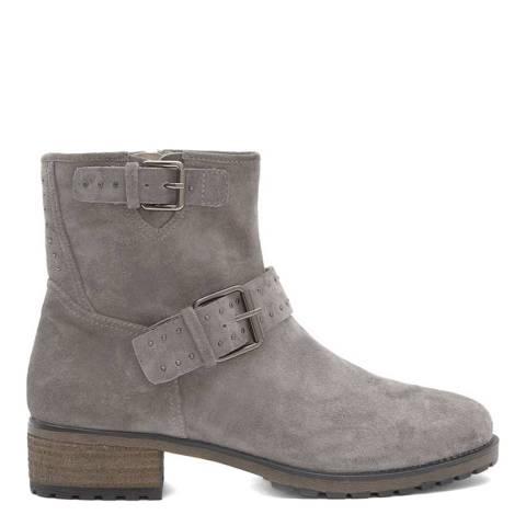 Mint Velvet Grey Nina Biker Boot