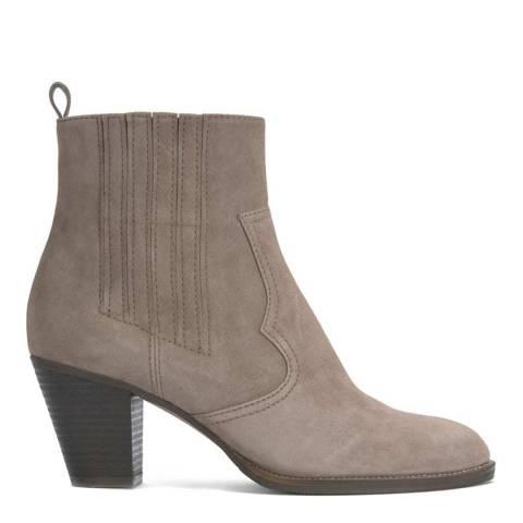 Mint Velvet Taupe Sophie Cowboy Boot