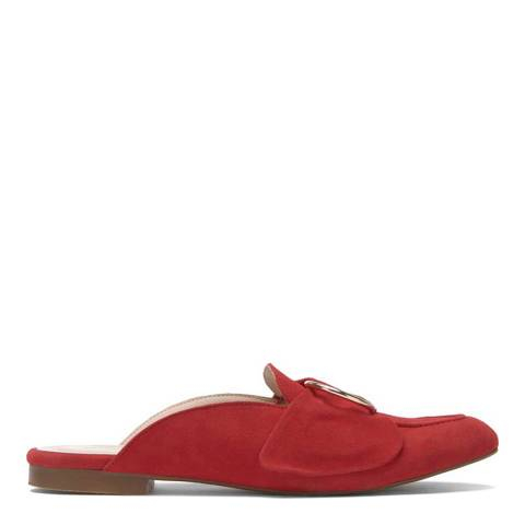 Mint Velvet Red Claire Backless Loafer