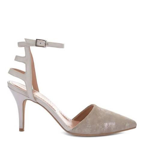 Mint Velvet Metallic Sadie Court Sandals