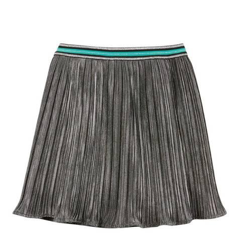 Mint Velvet Gunmetal Metallic Skirt