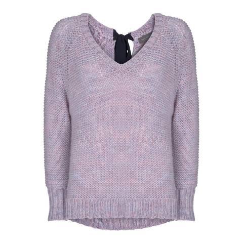 Mint Velvet Lilac Tie Back Chunky Knit