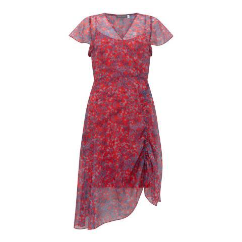 Mint Velvet Carolina Print Midi Dress