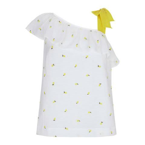 Mint Velvet Lemon Embroidered Cami