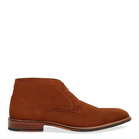 Ted Baker Tan Suede Ankle Boot