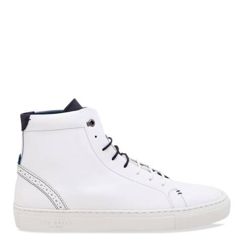 Ted Baker White Daraah High Top Trainer